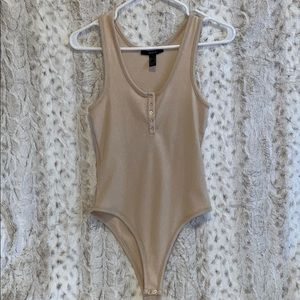 Women's Tan One-Piece